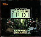 Vintage: STAR WARS: RETURN OF THE JEDI, Widescreen Trading Cards, Unopened box.