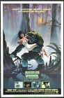 THE SWAMP THING MOVIE POSTER Original 27x41 Folded One Sheet 1982 HORROR NMint