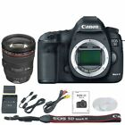 Canon EOS 5D Mark III MK3 DSLR Camera Body with Canon EF 24 105mm 4L Lens Kit
