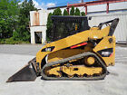 2013 Caterpillar 259B3 Two Speed Track Skid Steer Loader Auxiliary Hydraulics