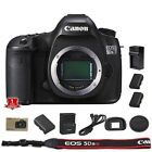 Canon EOS 5DSR 5DS R DSLR + 2 Extra Batteries and Charger