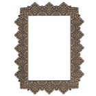 Leaky Shed Studio Chipboard Lace Rectangle Frame
