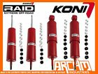 LAND ROVER DEFENDER 90 SERIES KONI ADJ HEAVY TRACK FRONT & REAR SHOCK ABSORBERS