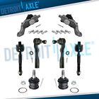 8pc Front Upper Lower Ball Joint Inner Outer Tierod for Toyota Tundra Sequoia