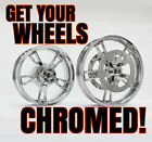 Get Your Enforcer Wheels Chrome Plated by Sport Chrome with a LIFETIME WARRANTY
