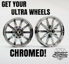 Get Your Ultra Limited Wheels Chrome Plated by Sport Chrome LIFETIME WARRANTY