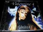 VALENTINE united JAPAN CD POCP-7234 Zinatra Mennen Valensia AOR/Melodic Rock
