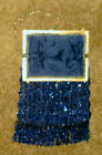 's Women's Beaded Purse with Chain Handle, Inside Cloth Intact
