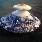 ROYAL CROWN DERBY BLUE MIKADO PATTERN LID ONLY FOR LARGE TEAPOT 3.75