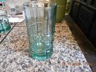 Anchor Hocking TARTAN dark green olive 16 oz Iced Tea Glass Tumbler