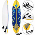Goplus 6 Surfboard Surf Foamie Boards Surfing Beach Ocean Body Boarding Yellow