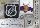 06 07 Dual NHL Shield Jeremy Roenick Luc Robitaille Autograph 1 1