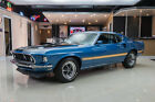 Ford Mustang Mach 1 S Code Rotisserie Restored S Code 390ci V8 5 Speed Manual PB PS A C Shaker Hood