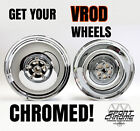 Get Your VROD Wheels Chrome Plated by Sport Chrome with a LIFETIME WARRANTY!
