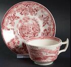 2 Royal Staffordshire Clarice Cliff/Alfred Meakin Tonq. EUC VTG Teacup