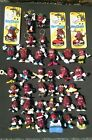 Lot Of 37 Vintage 1980's California Raisins Small Figurines