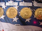 PRESIDENTIAL 1 COINS 2007 2016 D Mint 38 coins brilliant completed album