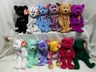 Ty Beanie Babies Lot Of 12 #2 The End TY2k America Clubby IV Ariel Cashew April