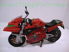 Mattel Black Red Motorcylce Moving Parts Shoots Missle Missing Press Button Toy