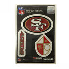 Team ProMark NFL San Francisco 49ers Die Cut Decal Sticker 3 Pack Made in USA