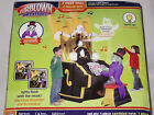 GEMMY 7' Animated w/Musical Lightshow Organ Player Halloween Airblown Inflatable