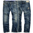 G STAR RAW JEANS STRAIGHT PANTS VINTAGE WORN DENIM W30 L34 RRP 225