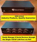 Quatech 8 Port RS 232 Serial Device Server 8 Serial Ports IP Network Managed
