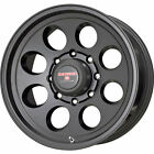 15x10 Black Level 8 Tracker Wheels 5x55 48 Lifted CHEVROLET TRACKER