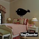 Chick Chicken Cluck Animal Wall Quote Mural Decal WA024-wa024
