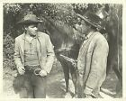 """GLENN FORD & DAN POORE in """"The Man from the Alamo"""" Original Vintage Photo 1953"""