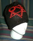 Hand Knit ~ Beaded Beanie Hats ~ Heart A Gram - Made to Order