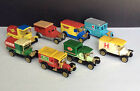 Set of Antique Looking Delivery & Service Trucks Sunoco New York Times Ambulance