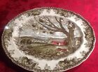 Johnson Bros The Friendly Village Harvest Time Oval Plate