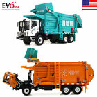 Toy 1 24 Scale Diecast Vehicle Material Transporter Garbage Truck Construct