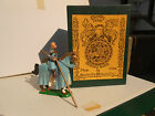 Mulberry Miniatures Chivalry mounted Sir Wilfred D'Ivanhoe knight Med 16 54mm WA