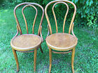 Vintage Bentwood cafe' chairs, Made in USA in 1943