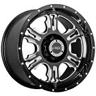 17x9 Black V Tec Rage 5x55 12 Wheels Nitto Trail Grappler 295 70 17