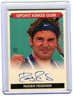 2015 Sportkings Roger Federer Green Parallel Auto 10 (SKS-RF1) Autograph