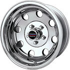15x8 Polished American Racing Baja Wheels 5x55 19 Lifted CHEVROLET TRACKER