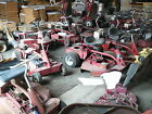 Lot of 10 Snapper Rear Engine Rider Mowers
