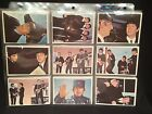 1964 TOPPS BEATLES DIARY CARDS COMPLETE SET OF 61 CARDS