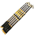 Telescopic Fishing Rod Spinning Fish Hand Tackle Sea Carbon Fiber Pole Portable