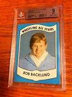 1982 Wrestling All Stars Bob Backlund Card BGS 9 WWE WWF AWA NWA WCW WWA TNA ROH
