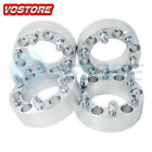 4 2 Wheel Spacers Adapters 6x5.5 For Chevy Silverado 1500 Suburban Gmc Trucks