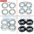 4 6x55 Wheel Spacers Adapters for Chevy Silverado 1500 Suburban GMC Trucks