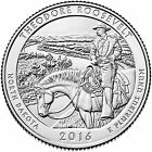 2016 D THEODORE ROOSEVELT NATIONAL PARK ND AMERICA THE BEAUTIFUL QUARTER