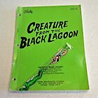 ORIGINAL Bally CREATURE From The Black Lagoon PINBALL Machine Operations MANUAL