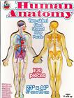 Human Anatomy Two Sided Giant Shaped Floor Jigsaw Puzzle 23