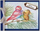 Birdie Bow HOUSE MOUSE Wood Mounted Rubber Stamp STAMPENDOUS NEW HMR71