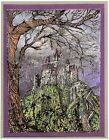 Halloween Haunted Mansion Wood Mounted Rubber Stamp STAMPENDOUS R267 New